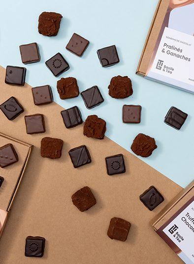 gamme bonbons de chocolat