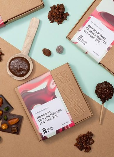 gamme confiserie de chocolat